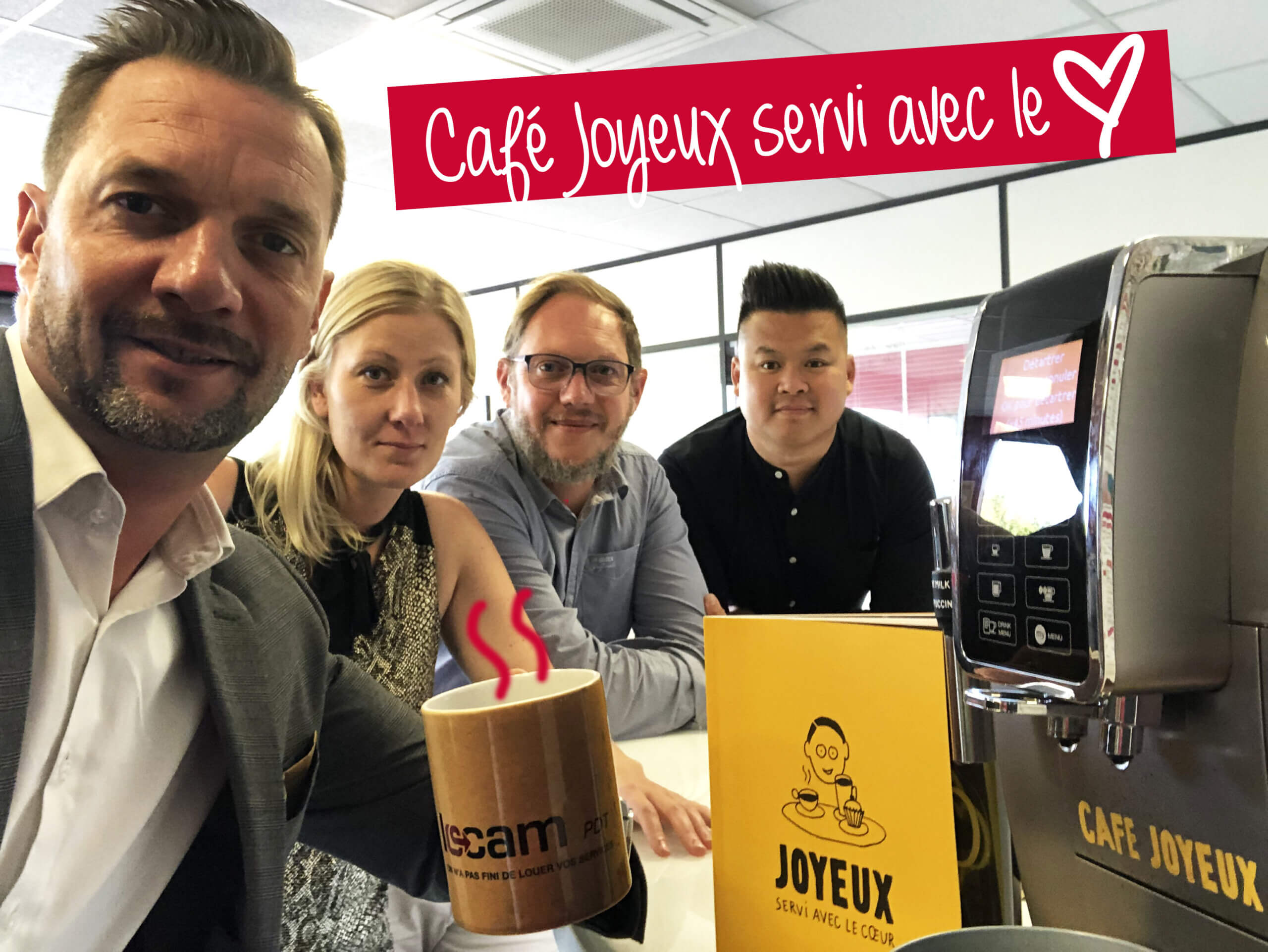 café joyeux chez LOCAM